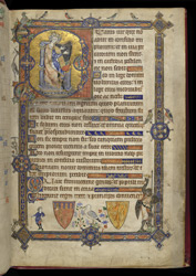 Beatus Page Of The 'Alphonso' Psalter